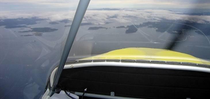 Rans S6 cockpit